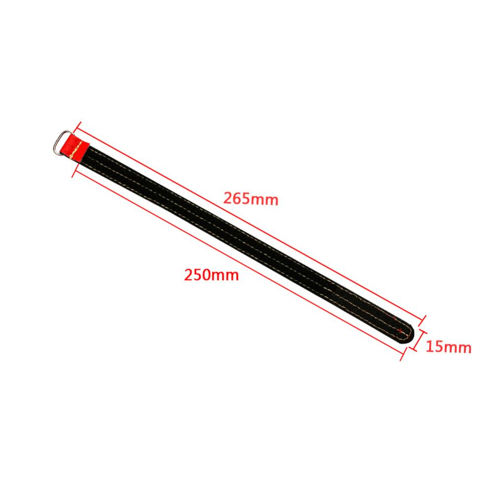 Battery Straps 15 x 250mm Kevlar Red - 2pcs