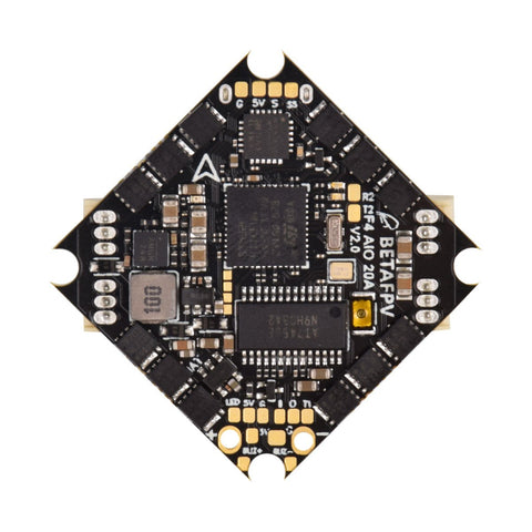 BetaFPV F4 2-4S AIO Brushless Flight Controller 20A(BLHeli_S)