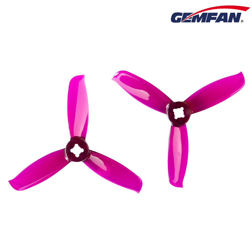 Gemfan 3028-3 Clear Purple