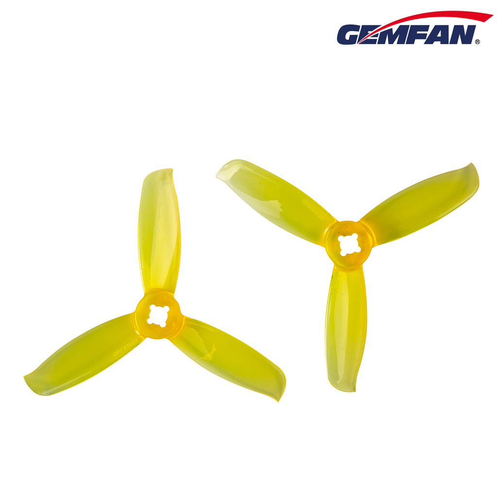 Gemfan 3028-3 Clear Yellow