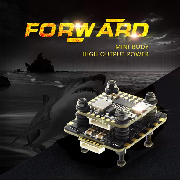 HGLRC FD445 Stack FD F4 Mini Flight Control FD45A 4 In1 Mini BLHeli_32 2-6S ESC