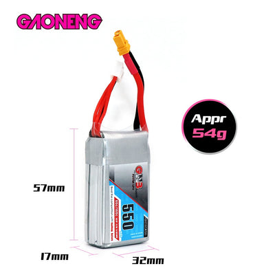 LiPo Battery GNB 3s 550mah