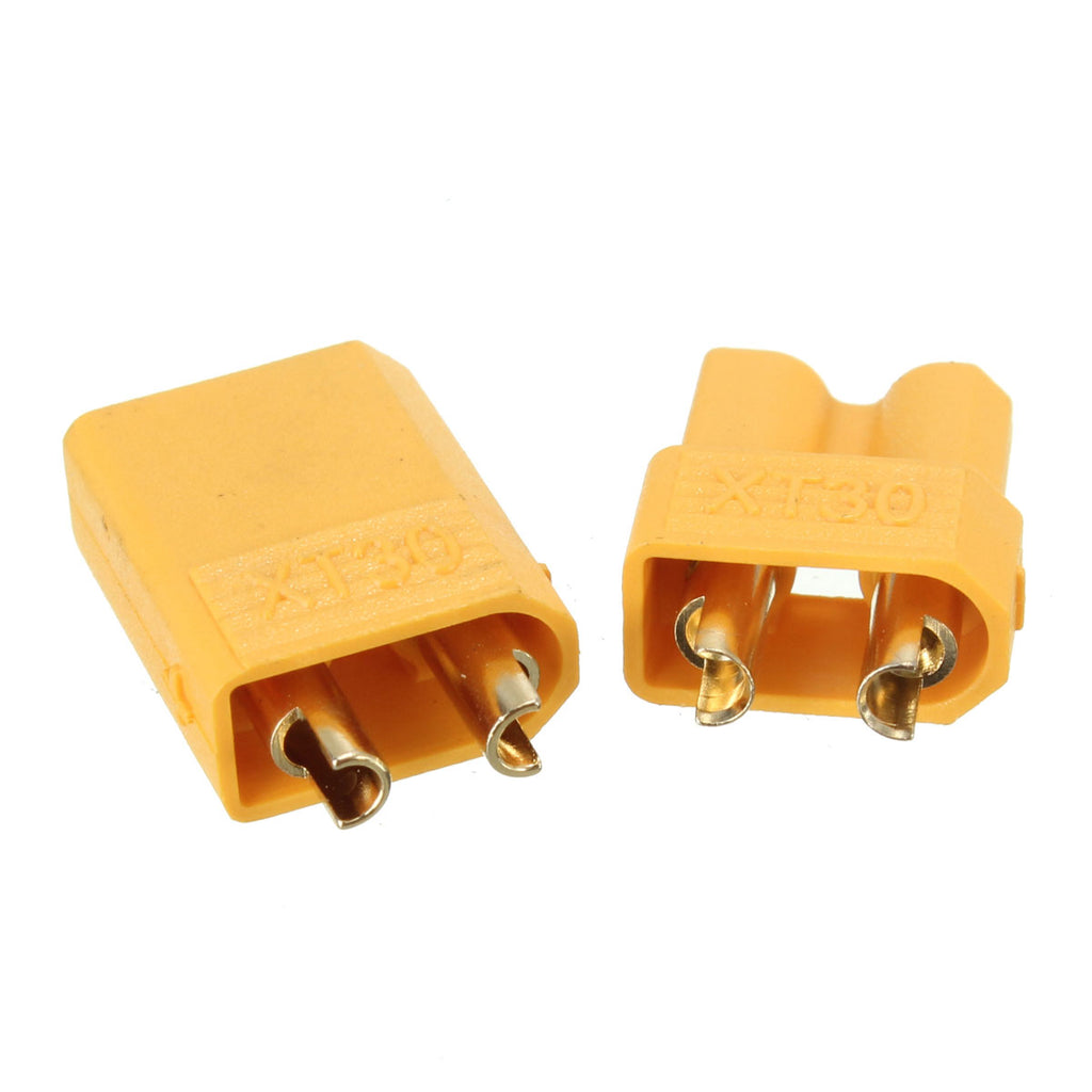 Pair XT30 2mm Golden Male Female Plug Connector
