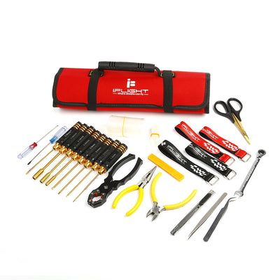 iFlight Storage Handbag Roll Type with Screwdriver Scissors Strap Tools Set