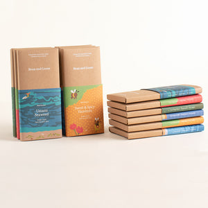 Double Box - A Selection of 12 milk and dark single origin chocolate bars