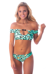Exuma Bottom - Mint Leopard