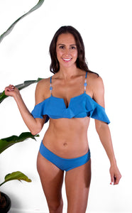 Signature Castaway Top - Parisian Blue