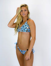 Load image into Gallery viewer, Salinas Top - Blue Leopard