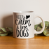 "Taza 11 oz ""Keep calm and love dogs"""