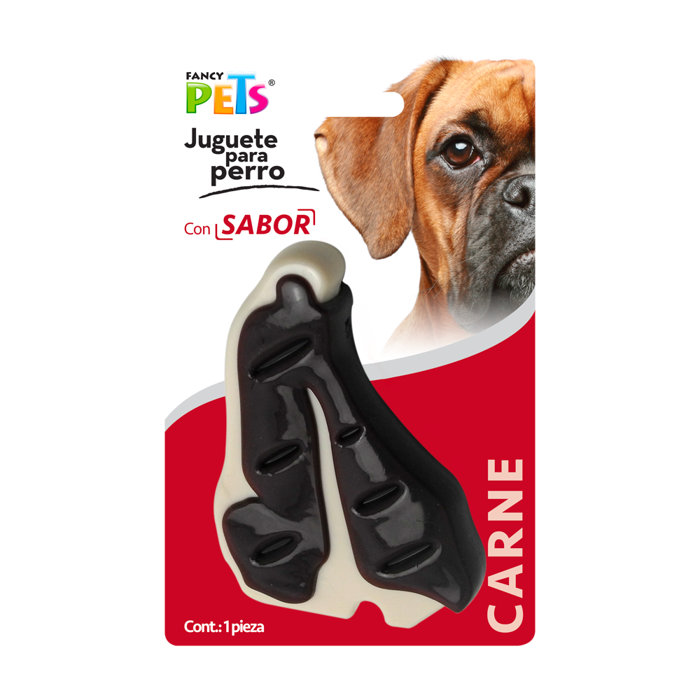 Juguete dental filete sabor carne
