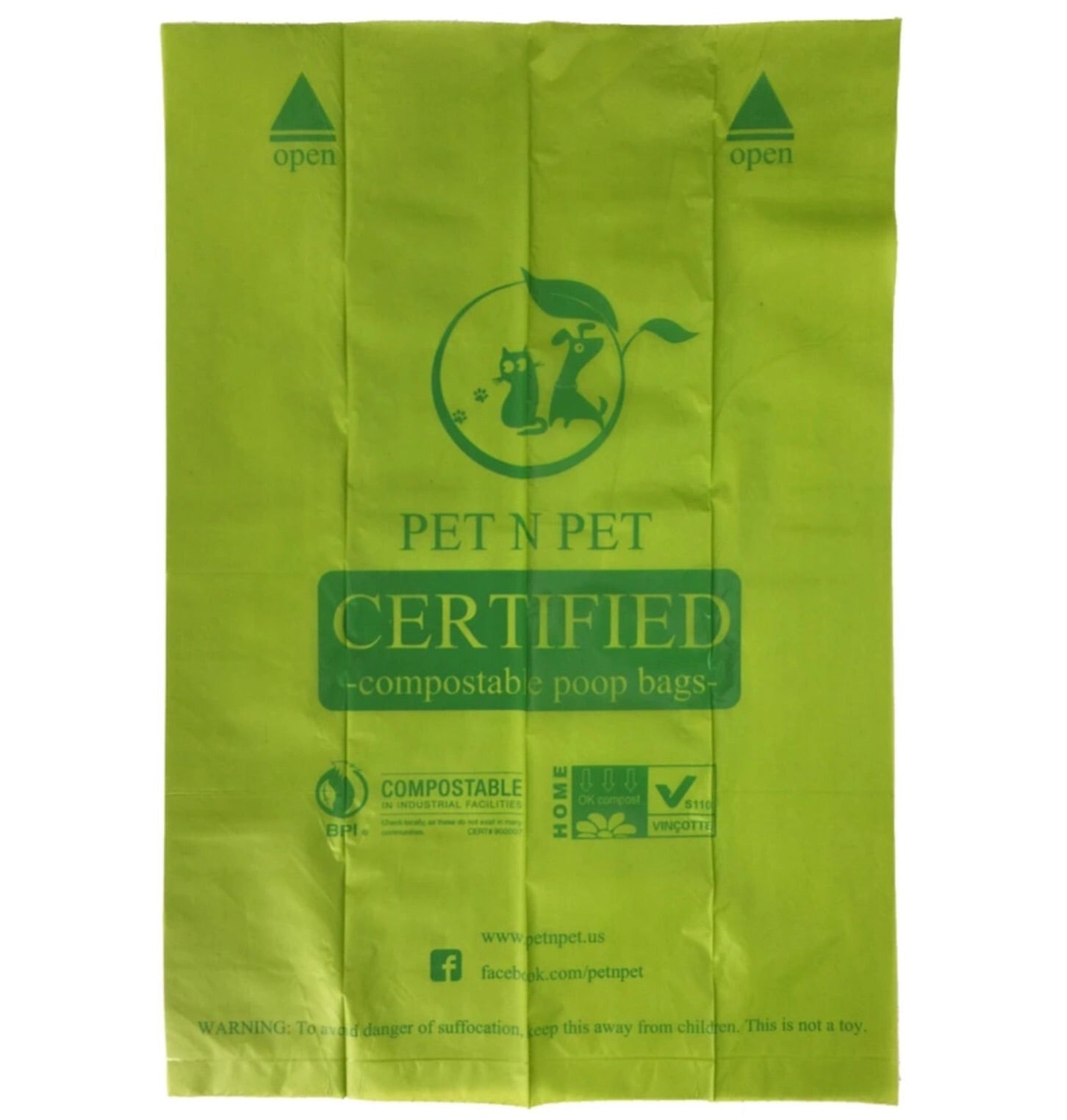 Biodegradable Earth Friendly Pet Waste Bags