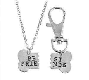 Matching Best Friends Necklace for Owner & Pet