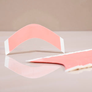 Red High Tack Tape - A-Shape Strip