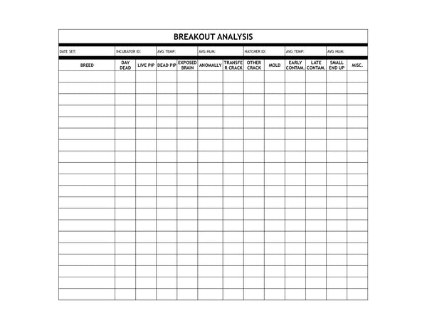 Breakout Analysis Worksheet