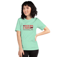 Load image into Gallery viewer, Short-Sleeve Unisex Deer Run Farm T-Shirt