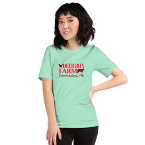 Short-Sleeve Unisex Deer Run Farm T-Shirt