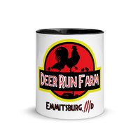 DRF Jurassic Logo Mug with Color Inside