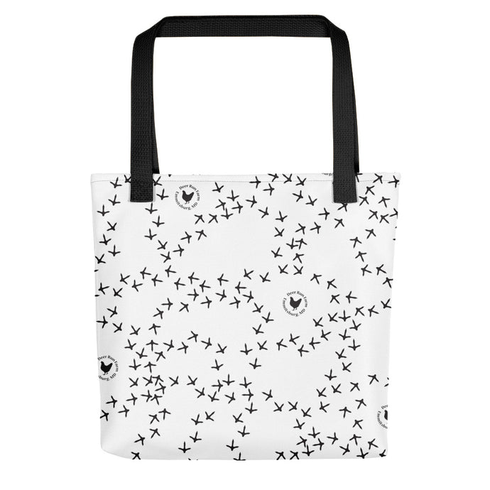 Chicken Footprint Tote bag
