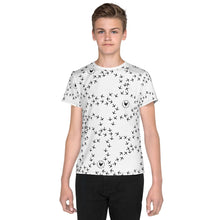 Load image into Gallery viewer, Youth Chicken Footprint T-Shirt