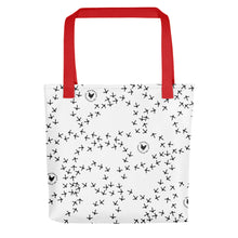Load image into Gallery viewer, Chicken Footprint Tote bag