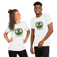 Short-Sleeve Unisex Deer Run Farm Logo T-Shirt