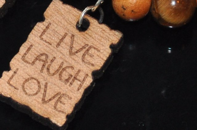 "Armband ""Live, Laugh, Love"""