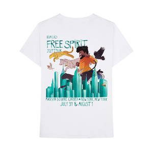 FREE SPIRIT TOUR NYC EXCLUSIVE T-SHIRT
