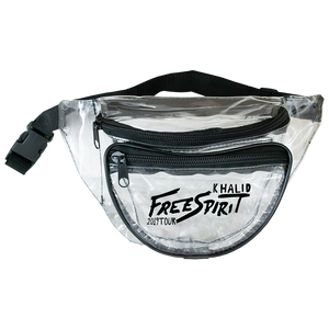 FREE SPIRIT TOUR CLEAR FANNY PACK