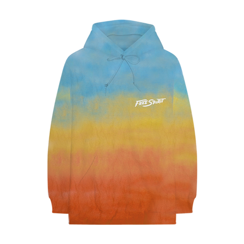 Free Spirit Sky Dyed Hoodie + Digital Album