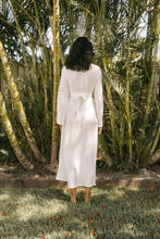 Load image into Gallery viewer, Linen Wrap Dress