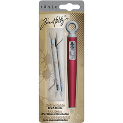 Tim Holtz Retractable Craft Knife W/2 Blades
