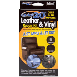Restor-It Quick 20 Leather & Vinyl Repair Kit
