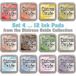Tim Holtz Distress Oxides Ink Pads 12 pads