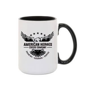 Black AHCC 15oz Mug