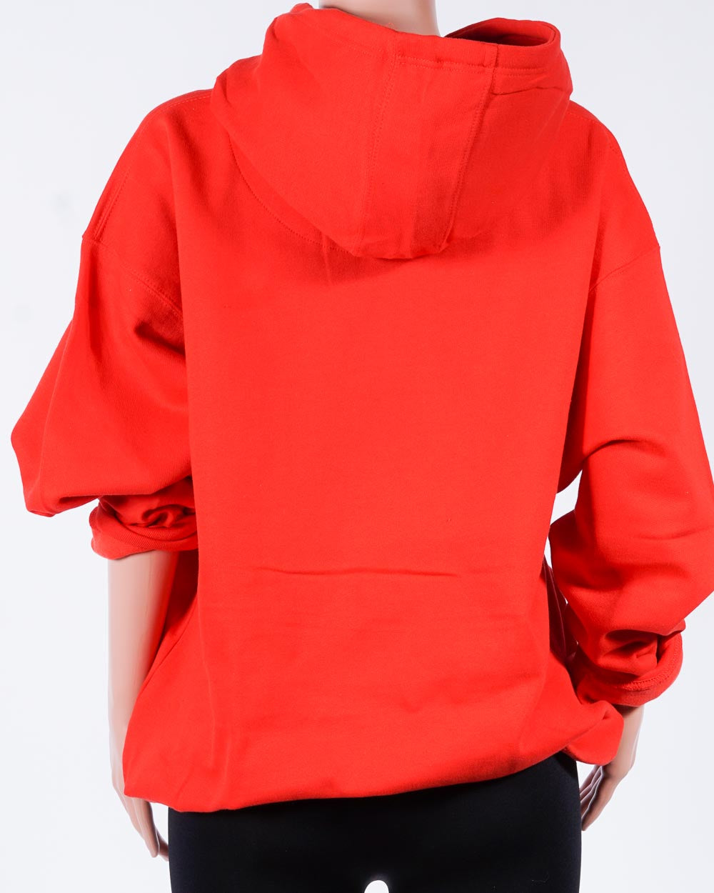 PUSSY hoodie, red/blk