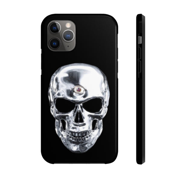 Cráneo Con Tercer Ojo Tough Phone Case