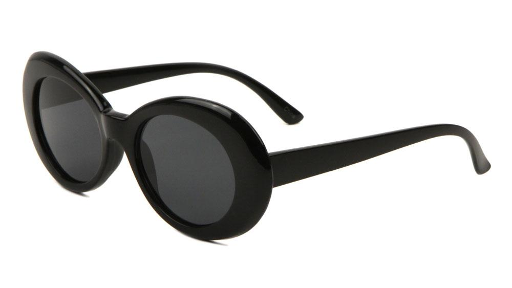 Bad Bunny Black frame oval glasses
