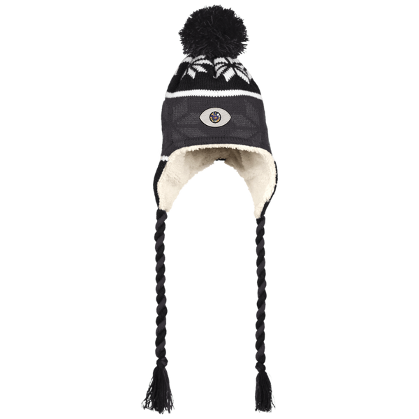 El Ojo Beanie with Ear Flaps