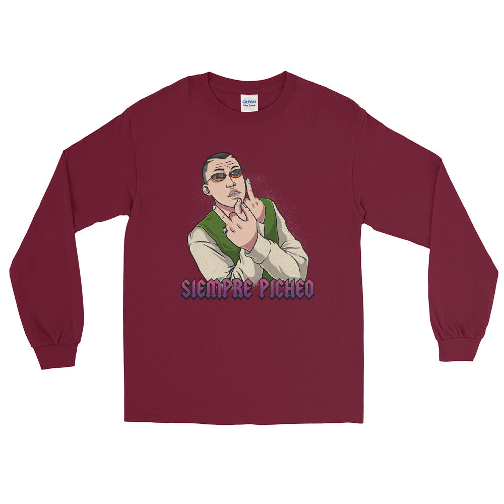 "Bad Bunny ""Siempre Picheo"" Long Sleeve"