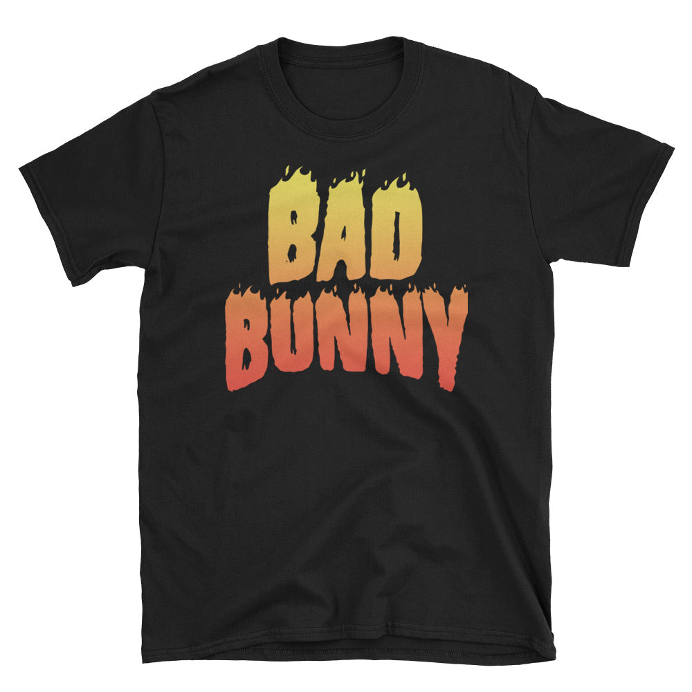 Bad Bunny Flame Unisex T-Shirt