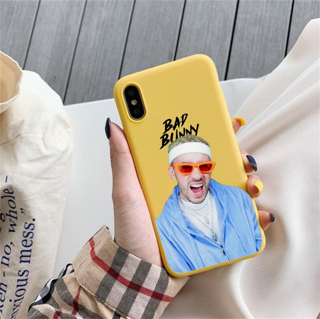 Bad Bunny Yellow Case