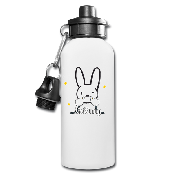 La Nueva Religión Water Bottle - white