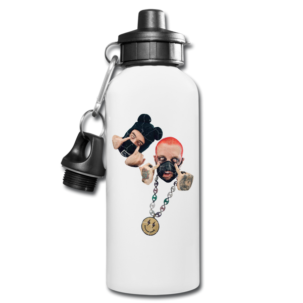 Cuidao Por Ahí Water Bottle - white