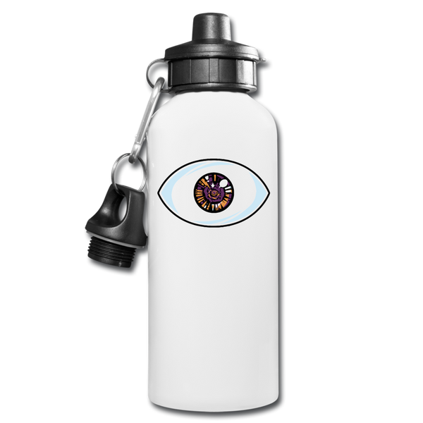 El Ojo Water Bottle - white