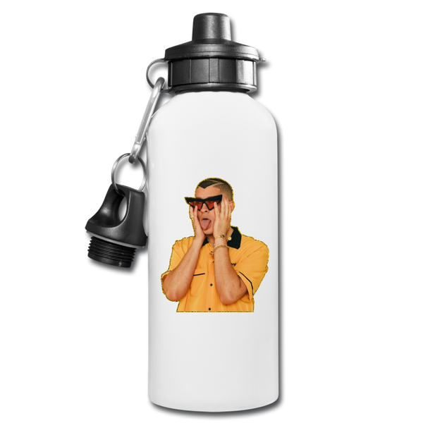 Bad Bunny Tongue Water Bottle - white