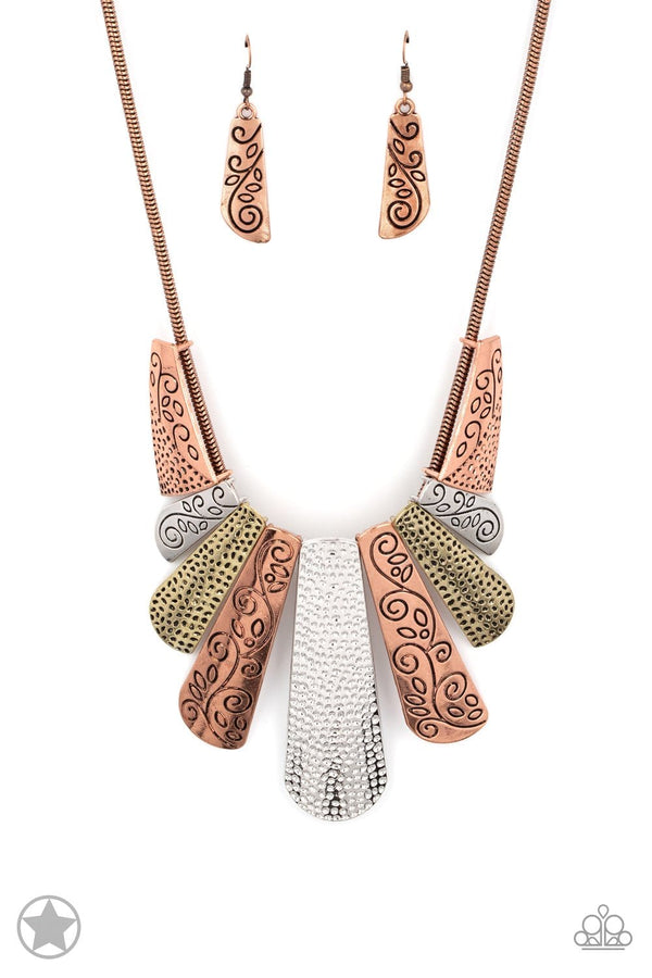 Jazzi Jewelz Boutique-Untamed-Necklace and Earring Set