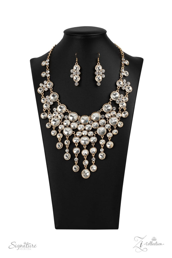 Jazzi Jewelz Boutique-The Rosa-Zi Collection Necklace and Earring Set