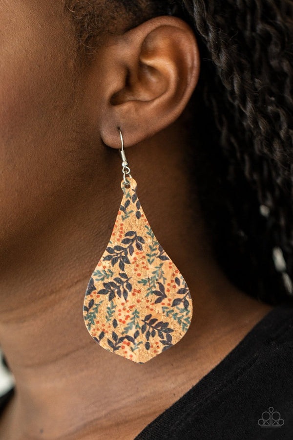 Jazzi Jewelz Boutique-Cork Coast-Multi Colored Cork Earrings