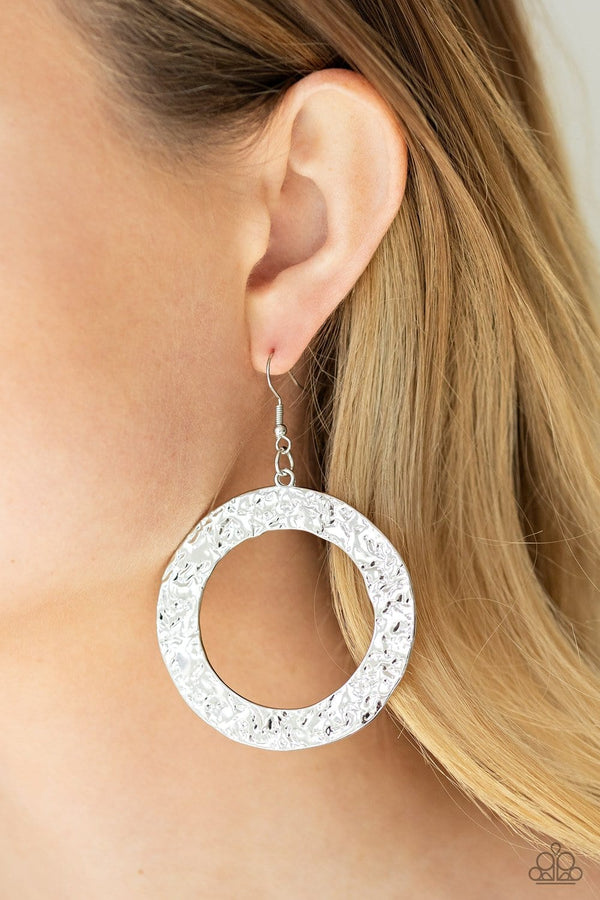 Jazzi Jewelz Boutique-Primal Meridan-Silver Earrings
