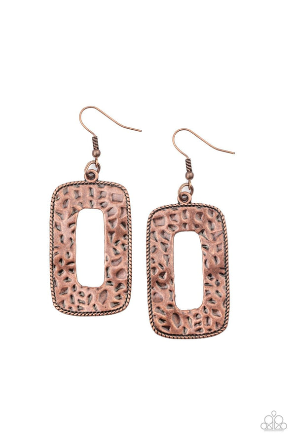 Jazzi Jewelz Boutique-Primal Elements-Copper Earrings
